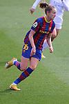 Liga IBERDROLA 2020-2021. Jornada: 18.<br /> FC Barcelona vs R. Madrid: 4-1.<br /> Caroline Graham Hansen.