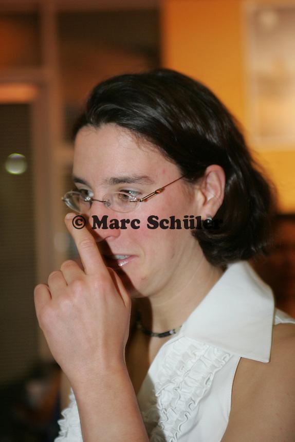 Weltfussballerin Birgit Prinz