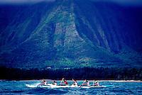Lanikai Canoe Club, men's race