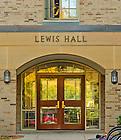 Oct. 11, 2012; Lewis Hall Door..Photo by Matt Cashore/University of Notre Dame