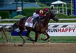 SARATOGA SPRINGS, NY - AUGUST 25: Catholic Boy  #11, ridden by jockey Javier Castellano, wins the Travers Stakes on Travers Stakes Day at Saratoga Race Course on August 25, 2018 in Saratoga Springs, New York. (Photo by Rob Simmons/Eclipse Sportswire/Getty Images)