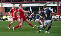 Aberdeen's Adam Rooney scores their first goal.
