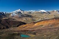 Tsada Geological Park in Western Tibet