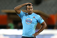 Waratahs Kurtley Beale dejected after their loss to the Highlanders in the Super 15 rugby match, Forsyth Barr Stadium, Dunedin, New Zealand, Saturday, March 14, 2015. Credit: SNPA/Dianne Manson