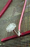 spray sprinkler unit for pumping over chateau du trignon rhone france