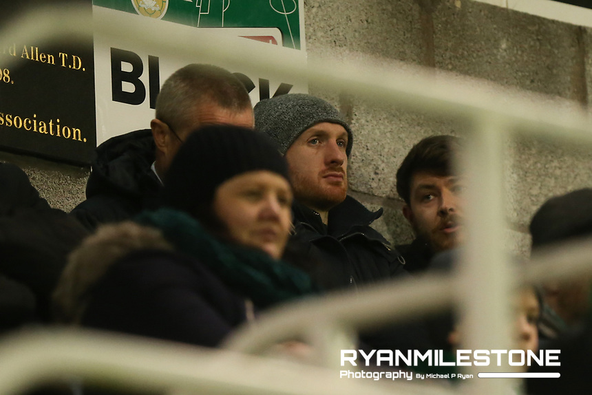SSE Airtricity League Premier Division,<br /> Cork City vs Bohemians<br /> Friday 15th March 2019,<br /> Turner's Cross, Cork.<br /> Dundalk opposition analyst Stephen O Donnell.<br /> Mandatory Credit: Michael P Ryan