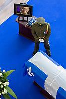 Canada, Montréal, la dépouille mortelle du premier ministre Jacques Parizeau exposée en chapelle ardente au Parquet de la Caisse de dépôt et de placement du Québec le samedi 6 juin 2015, de 10 h à 18 h <br /> <br /> <br /> PHOTO :  Agence Quebec presse<br /> <br /> <br /> <br /> PHOTO :  Agence Quebec Presse
