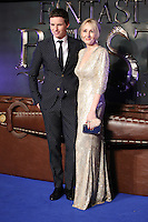 "Eddie Redmayne and J K Rowling<br /> at the premiere of ""Fantastic Beasts and where to find them"", Odeon Leicester Square, London.<br /> <br /> <br /> ©Ash Knotek  D3198  15/11/2016"