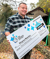 Pictured: £1million winner Wayne Rowles <br />