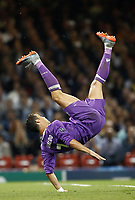 Calcio, Champions League: finale Juventus vs Real Madrid. Cardiff, Millennium Stadium, 3 giugno 2017.<br /> Real Madrid's Cristiano Ronaldo in action during the Champions League final match between Juventus and Real Madrid at Cardiff's Millennium Stadium, Wales, June 3, 2017. Real Madrid won 4-1.<br /> UPDATE IMAGES PRESS/Isabella Bonotto