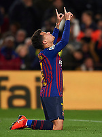 BARCELONA, 30-01-2019. Copa el Rey 2018/ 2019, round of 8 first leg. Barcelona-Sevilla. Philippe Coutinho of FC Barcelona celebrates his second goal (3-0) during the game Barcelona 6-1 Sevilla <br /> Foto Pressinphoto/Proshots/Insidefoto