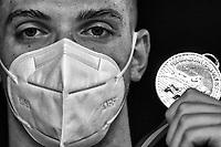 MIRESSI Alessandro Italian Champion<br /> 50m Freestyle Men<br /> Roma 11/08/2020 Foro Italico <br /> FIN 57 Trofeo Sette Colli 2020 Internazionali d'Italia<br /> Photo Andrea Staccioli/DBM/Insidefoto