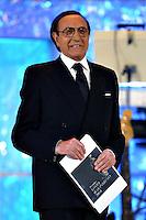 Roma 14/4/2004 Palazzo dei congressi <br /> Premiazione David di Donatello 2004 <br /> Pippo Baudo, presentatore della serata. <br /> foto Andrea Staccioli Insidefoto