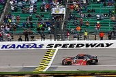NASCAR XFINITY Series<br /> Kansas Lottery 300<br /> Kansas Speedway, Kansas City, KS USA<br /> Saturday 21 October 2017<br /> Christopher Bell, JBL Toyota Camry drives under the checkered flag to win<br /> World Copyright: Russell LaBounty<br /> LAT Images