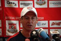 Trainer Juergen Klinsmann (USA) - Pressekonferenz von US-Soccer, Washington