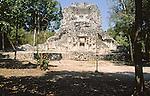 Structure XX, Chicanna, Mexico, Central America