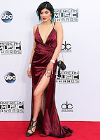 LOS ANGELES, CA, USA - NOVEMBER 23: Kylie Jenner arrives at the 2014 American Music Awards held at Nokia Theatre L.A. Live on November 23, 2014 in Los Angeles, California, United States. (Photo by Xavier Collin/Celebrity Monitor)