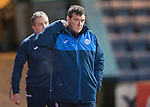 Dundee v St Johnstone…12.02.16   SPFL   Dens Park, Dundee<br />Saints boss Tommy Wright<br />Picture by Graeme Hart.<br />Copyright Perthshire Picture Agency<br />Tel: 01738 623350  Mobile: 07990 594431