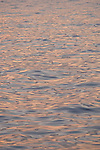Santa Cruz Island, Channel Islands, California; ripple patterns on the surface of the water reflect the colors in the later afternoon sky , Copyright © Matthew Meier, matthewmeierphoto.com All Rights Reserved