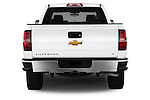 Straight rear view of a 2014 Chevrolet Silverado 1500 LT 2WD Crew Cab