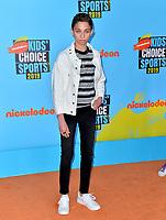 SANTA MONICA, USA. July 11, 2019: Ryan Alessi at Nickelodeon's Kids' Choice Sports Awards 2019 at Barker Hangar.<br /> Picture: Paul Smith/Featureflash