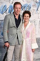 LONDON, UK. June 25, 2019: Damien Lewis & Helen McCrory arriving for the Serpentine Gallery Summer Party 2019 at Kensington Gardens, London.<br /> Picture: Steve Vas/Featureflash