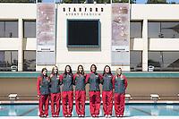 STANFORD, CA - Stanford University Women's Synchro Team