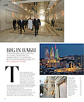 """Big in Baku,"" T: The New York Times Style Magazine, August 19, 2012, p. 148.<br />