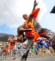 CALI -COLOMBIA-25-12-2013. Con más de 1300 bailarines de 26 escuelas juveniles, 6 escuelas infantiles y con 8 alas temática se realizó la apertura de la 56  feria de Cali con un recorrido de m‡s de dos horas que disfrutaron cientos de cale–os y extranjeros   . / With over 1300 dancers from 26 junior schools, 6 kindergartens and 8 themed wings opening the Feria of Cali  56 was performed with a distance of more than two hours they enjoyed hundreds of Cali and foreign .Photo: VizzorImage / Juan Carlos Quintero / Stringer