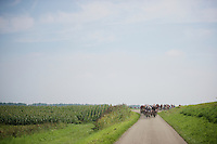 the peloton hits the flat lands near Holland<br /> <br /> 90th Schaal Sels 2015