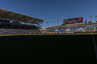 CARSON, CA - FEBRUARY 1: Dignity Health Sports Park during a game between Costa Rica and USMNT at Dignity Health Sports Park on February 1, 2020 in Carson, California during a game between Costa Rica and USMNT at Dignity Health Sports Park on February 1, 2020 in Carson, California.