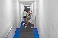 SAN SALVADOR, EL SALVADOR - SEPTEMBER 2: Sebastian Lletget of the United States during a game between El Salvador and USMNT at Estadio Cuscatlán on September 2, 2021 in San Salvador, El Salvador.