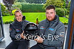 Killarney Rally driver Colin O'Donoghue right and co driver Kieran O'Donoghue  who won the Escort Rally Special held in Belgium last weekend