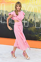 """LONDON, UK. July 30, 2019: Jacqui Ritchie at the UK premiere for """"Once Upon A Time In Hollywood"""" in Leicester Square, London.<br /> Picture: Steve Vas/Featureflash"""