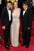 HOLLYWOOD, CA, USA - MARCH 02: Ethan Hawke, Julie Delpy, Richard Linklater at the 86th Annual Academy Awards held at Dolby Theatre on March 2, 2014 in Hollywood, Los Angeles, California, United States. (Photo by Xavier Collin/Celebrity Monitor)