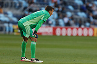 SAINT PAUL, MN - MAY 15: Tyler Miller #1 of Minnesota United FC\ during a game between FC Dallas and Minnesota United FC at Allianz Field on May 15, 2021 in Saint Paul, Minnesota.