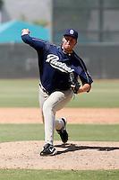 Matt Lollis - San Diego Padres 2009 Instructional League.Photo by:  Bill Mitchell/Four Seam Images..