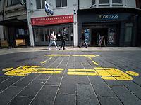 2021 05 14 Covid-19 Cardiff, Wales, UK