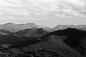 The long view out to Crawford Notch from a distant White Mountain Peak shortly after sunrise.