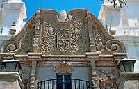 "AZ: Tucson--San Xavier Del Bac Facade or ""Frontal"" as Reyner Banham calls it.  Photo '96."