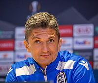 2012 11 28 PAOK press conference and training ahead of Chelsea match, London, UK