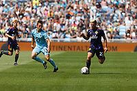 ST PAUL, MN - JULY 18: Ethan Finlay #13 of Minnesota United FC and Kelyn Rowe #22 of the Seattle Sounders FC battle for the ball during a game between Seattle Sounders FC and Minnesota United FC at Allianz Field on July 18, 2021 in St Paul, Minnesota.