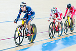 Elise Delzenne of France competes in the Women's Points Race 25 km Final during the 2017 UCI Track Cycling World Championships on 16 April 2017, in Hong Kong Velodrome, Hong Kong, China. Photo by Marcio Rodrigo Machado / Power Sport Images