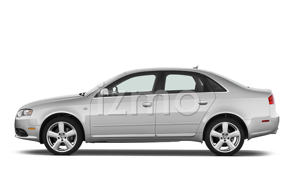 Driver side profile view of a 2005 - 2008 Audi A4 3.2 Sedan.