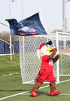 Glory, mascot of the Washington Freedom during a WPS pre season match at the Maryland Soccerplex against the Philadelphia Independence on March 27 2010 in Boyds, Maryland. The game ended in a 0-0 tie.