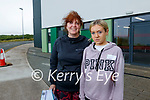 Sharon Condon, Tralee with her daughter Rachel Mulgrew (15) pictured after getting her vaccination in Tralee on Tuesday.