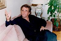 1990 FILE PHOTO - ARCHIVES -<br /> <br /> Actor<br /> Falk, Peter, 1927-2011<br /> <br /> 1990<br /> <br /> PHOTO :  Erin Comb - Toronto Star Archives - AQP