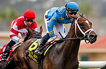 JULY 24, 2021: Smooth Like Strait with Umberto Rispoli  in the early running of  the Eddie Read Stakes at the Del Mar Fairgrounds in Del Mar, California on July 24, 2021. Evers/Eclipse Sportswire/CSM