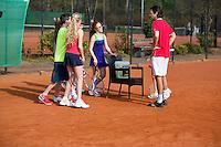 Harderwijk The Netherlands. 30.03.2014. Open Tennis Dagen<br /> Photo:Tennisimages/Henk Koster