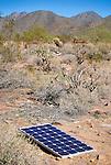 Solar panel, Taliesin West, Phoenix, Arizona